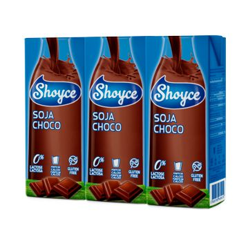 Bebida de Soja Chocolate Shoyce 9x3x200ml