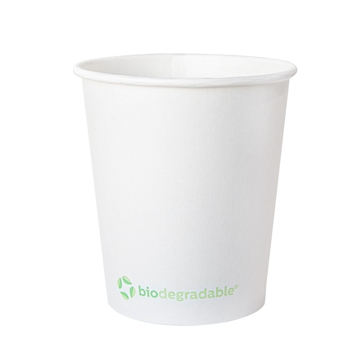 Hot Drink Paper Cup 180ml 6oz - White - Box 20x50