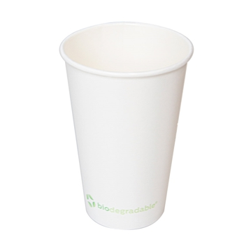 Hot Drink Paper Cup 240ml 8oz - White - Box 20x50
