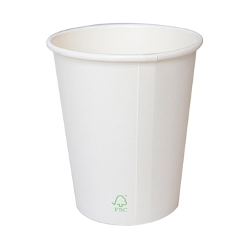 Hot Drink Paper Cup 360ml 12oz - White - Box 20x50