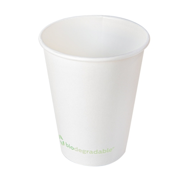 Hot Drink Paper Cup 480ml 16oz - White - Box 20x50