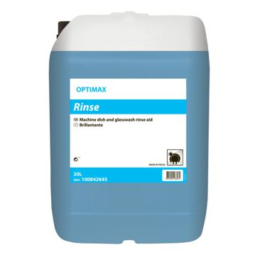 Secante Líquido Optimax Rinse 20L