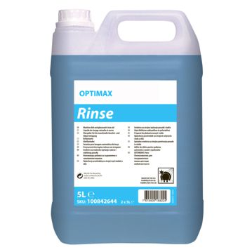Secante Líquido Optimax Rinse 5L