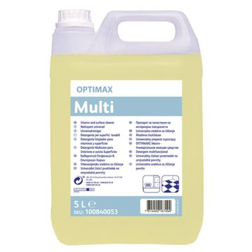 Detergente multiusos Optimax Multi 5L